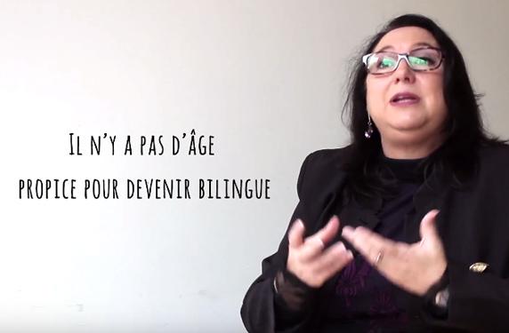 Age propice pour devenir bilingue
