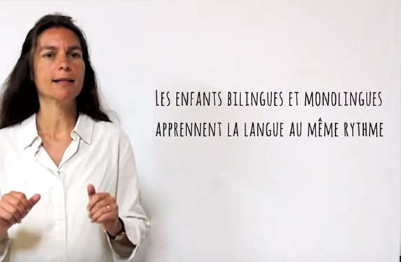 Enfants bilingues et enfants monologues