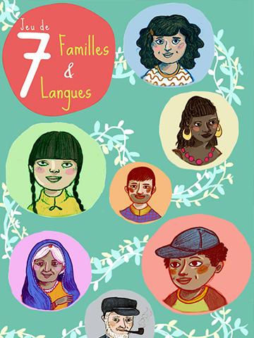 Jeu de 7 familles & langues