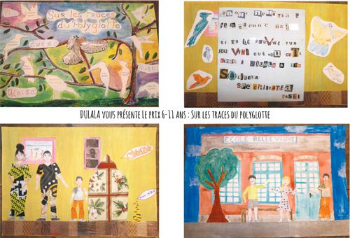 Prix tranche d'âge 6-11 ans : Sur les traces du polyglotte