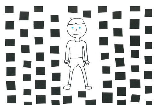 Prix 10-15 ans : Little Blue et les yeux noirs