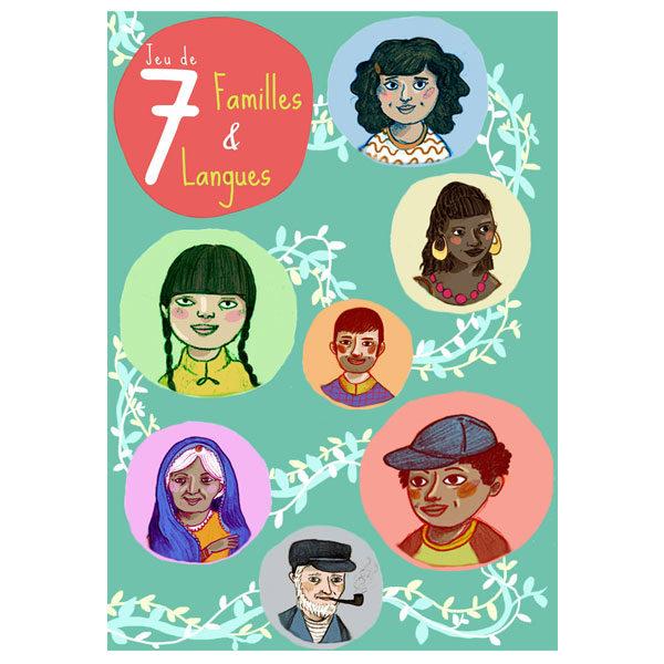 Jeu de 7 familles et langues - Dulala