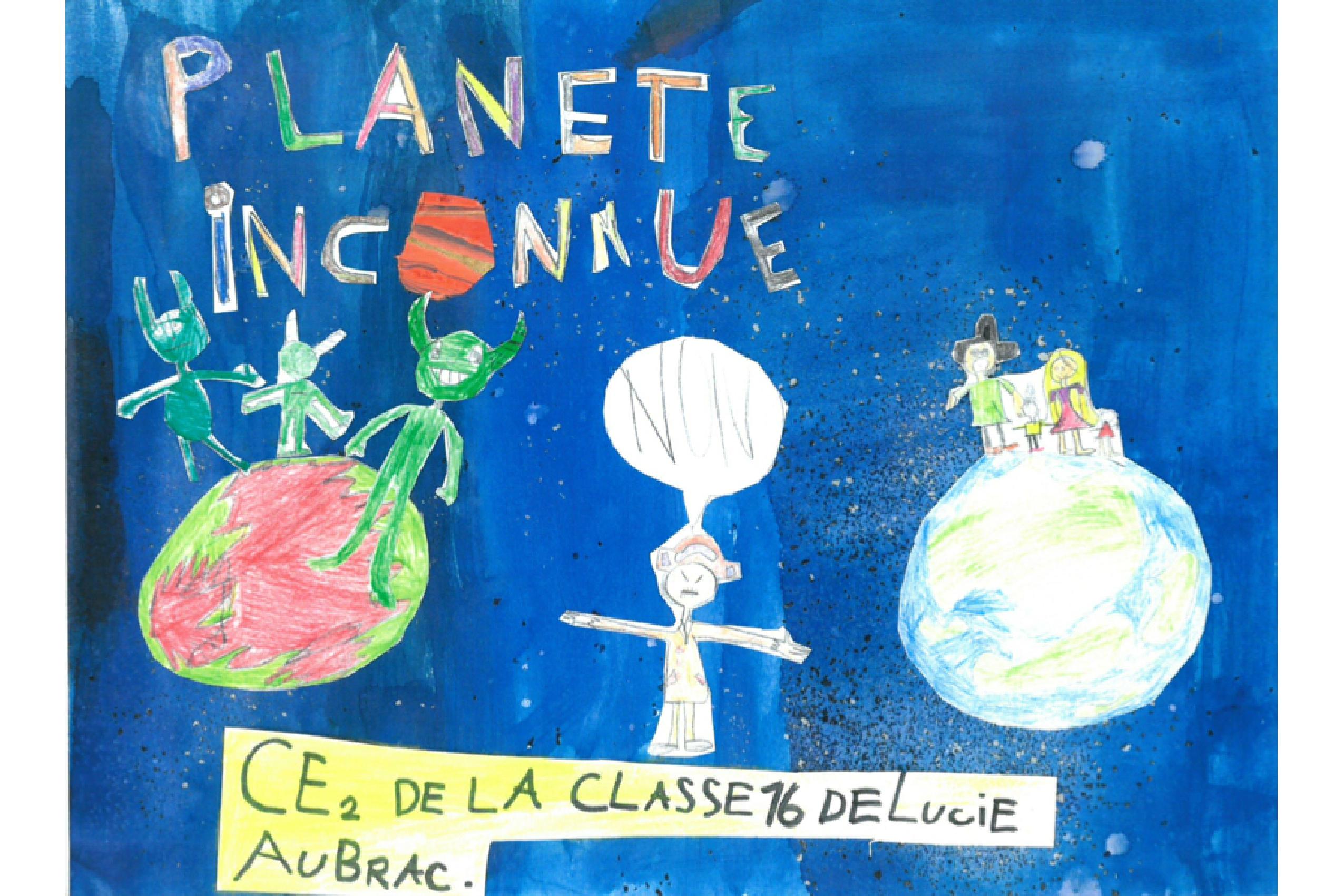 Prix 6-10 ans : Planète inconnue