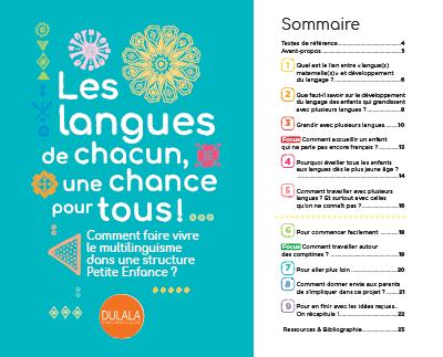 Livret Multilinguisme Petite Enfance