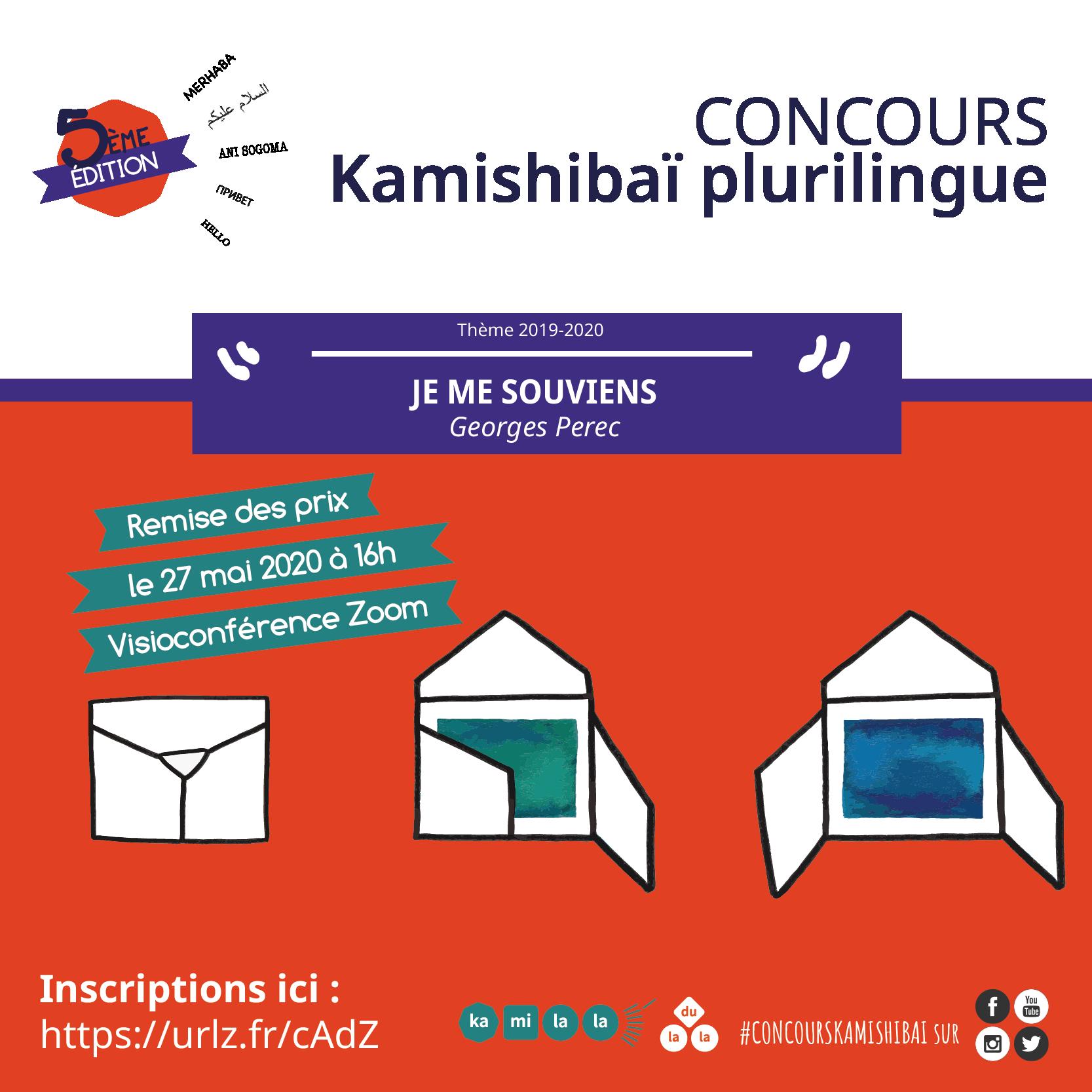 Remise des prix Concours Kamishibaï plurilingue 2020